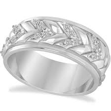 Wedding Rings White Gold by 226 Best Men U0027s Wedding Bands Images On Pinterest White Gold