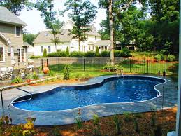 breathtaking inground pool designs for small backyards photo
