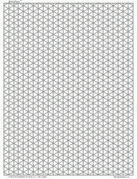 printable isometric paper a4 drawing graph paper 5mm gray full page port letter