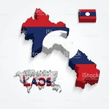 Map Of Laos Laos Stock Vector Art 673844466 Istock