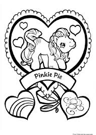 my little pony friendship is magic pinkie pie coloring pagesfree