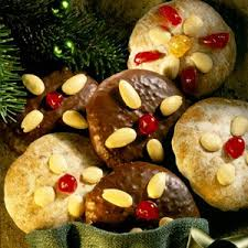 glazed lebkuchen gingerbread cookies german christmas cookies