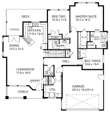 ranch style house plan 3 beds 2 50 baths 1625 sq ft plan 126 143 ranch style house plan 3 beds 2 50 baths 1625 sq ft plan 126