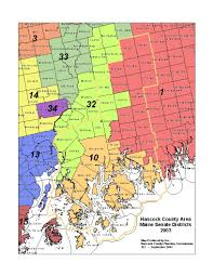 Maine State Map by Hcpc Public Administration