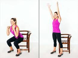 Chair Squat 10 Exercises For A Total Body Workout At Home