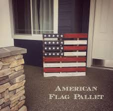Pallet American Flag American Flag Pallet Art And Her Kitchen