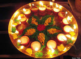 diya decoration for diwali at home gallery of decorating home