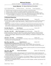 Sample Marketing Consultant Resume Lean Consultant Resume Cv Cover Letter