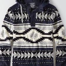 baja sweater mens aeo s baja sweater blue from eagle outfitters