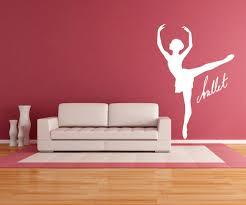 vinyl wall decal sticker ballet dance os mb572