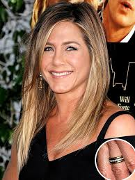 aniston wedding ring aniston s wedding ring photos aniston gold ring