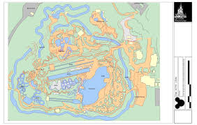 Blizzard Beach Map Wdwthemeparks Com News Disney Blue Prints Miscellaneous