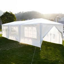 10 x 30 white party tent gazebo canopy