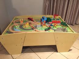 train and track table plum train and track activity table boksburg gumtree classifieds
