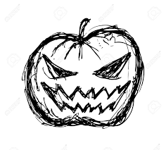 halloween pumpkin drawing colored festival collections 10 free