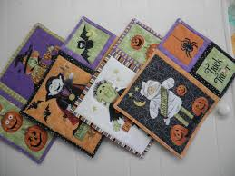 halloween placemat sew what quilt shop gearing up for halloween