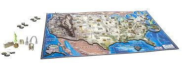 Time Map Usa by 4d Cityscape Usa History Time Puzzle New Free Shipping Ebay