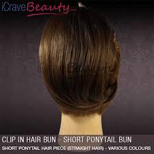 hair bun clip clip in hair bun ponytail