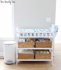 Changing Table Shelf Changing Table Organization