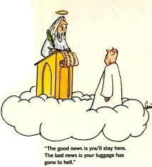 funny cartoon about heaven great clean jokes