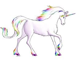 free printable image of unicorn 35 in coloring pages of animals
