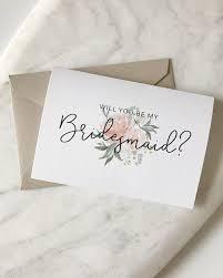 bridesmaid cards will you be my bridesmaid card set bridesmaid card