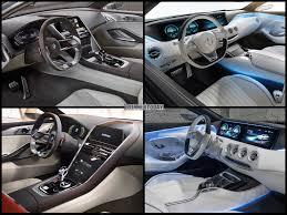bmw showroom interior photo comparison bmw 8 series concept vs mercedes benz s class