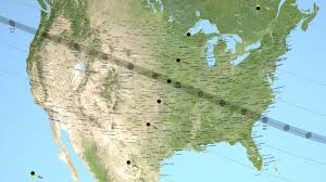 Made In America Map by Nasa Creates Extremely Accurate Map For August U0027s Total Solar