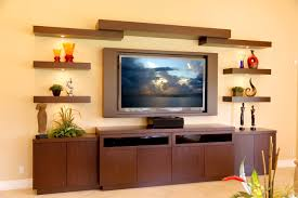 Floating Shelves Entertainment Center by This Is A Custom Entertainment Center Located In Lake Worth This