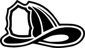 firefighter helmet clip art clker vector clip art