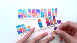 nail wraps tutorial
