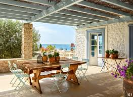 a compound of villas in the greek islands is transformed for a
