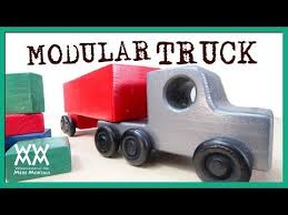 wooden truck plans free plans fun to build woodworking tools