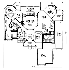 octagonal two story great room 62461dj architectural designs