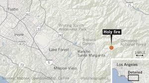 California Wildfires Map California Wildfire Updates Fast Moving Fire In Santa Cruz