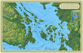 Map Of Dfw Central Salish Sea Map