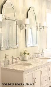 Restoration Hardware Bathroom Mirror by Restoration Hardware Maison Double Vanity Sink In Antiqued White