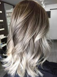 silver hair with blonde lowlights blonde hair highlights lowlights women medium pretty with long