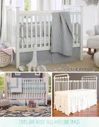 Bed Skirt For Crib Crib Skirts Choosing The Right One For Your Crib Caden