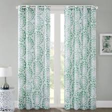 Mint Green Sheer Curtains Buy Mint Curtain Panels From Bed Bath U0026 Beyond