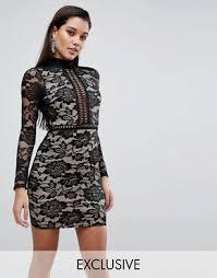 lace dresses black u0026 white lace dress styles asos