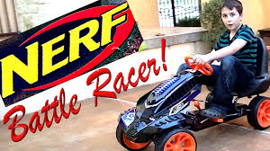 nerf car nerf battle racer with the best bros rob u0026 will youtube
