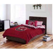 NCAA University Of South Carolina Gamecocks Bed In A Bag Complete - Carolina bedroom set