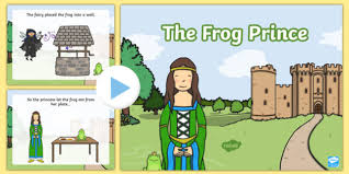 frog prince story powerpoint frog prince frog
