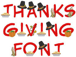 thanksgiving font by concord collections home format fonts on