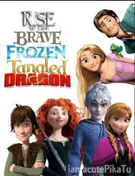 rise brave frozen tangled dragon wallpaper 2 rise