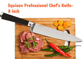 kitchen knives set reviews equinox professional chef s knife 8 inch http