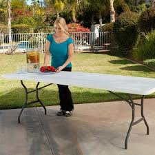 Lifetime Outdoor Furniture 17 Best Lifetime Eight Foot Fold In Half Tables Images On