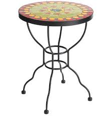 Mosaic Accent Table Remarkable Mosaic Accent Table With Collection In Mosaic Accent