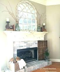 fireplace decor ideas decorative mirror above fireplace pictures of mirrors above
